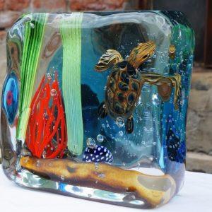 murano glass aquarium