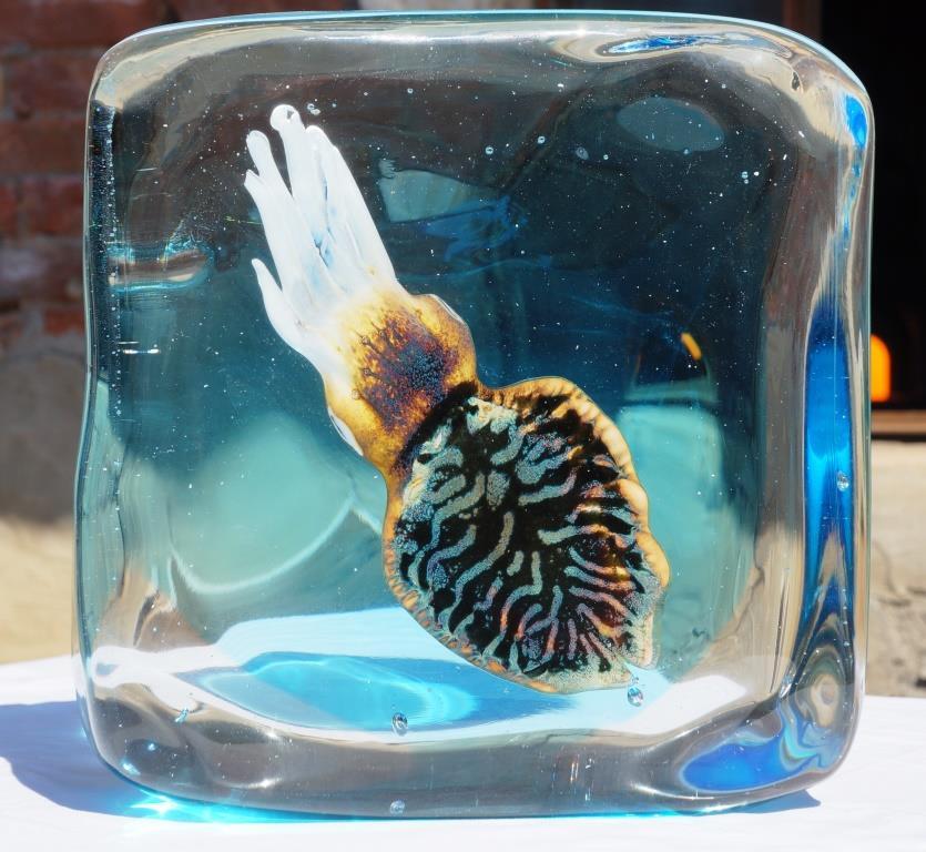 murano glass aquarium sculptures made in murano italy. Black Bedroom Furniture Sets. Home Design Ideas