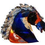 Murano glass animal