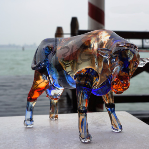 Badioli Murano Glass Animal