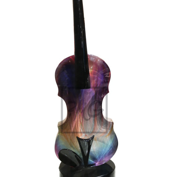 violin calcedonia glass