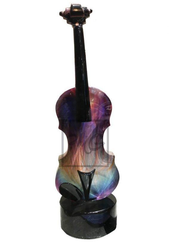 violin calcedonia glass