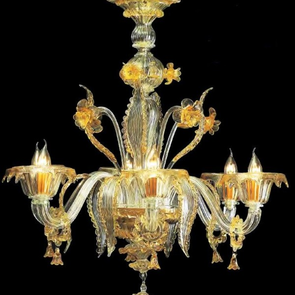 Golden Venetian Chandelier