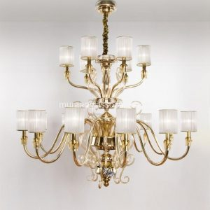 Cenedese Gold Chandelier