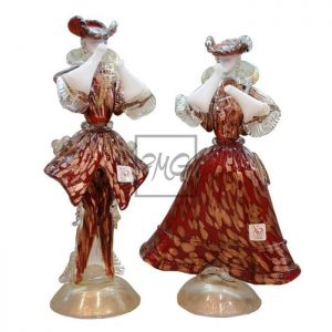 Red Venetian Couple