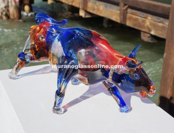 Italian Glass Bull